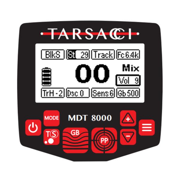 MDT 8000 - Product Info | Metal Detector | Metal Detecting